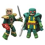 Minimates: Marvel Series 54 Baron Strucker vs. Hydra Elite Action Figure 2-Pack おもちゃ [並行輸入品]