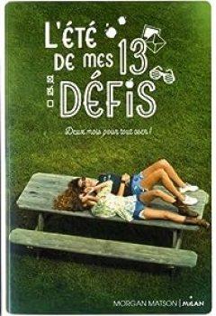 Livres Couvertures de L'été De Mes 13 Défis