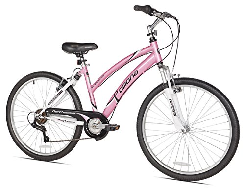 Northwoods Pomona Women's Cruiser Bike, 26-Inch, Pink