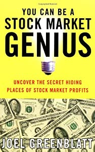 """Cover of """"You Can Be a Stock Market Geniu..."""