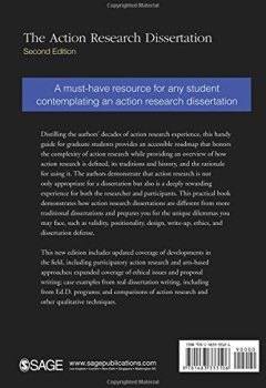 Livres Couvertures de The Action Research Dissertation: A Guide for Students and Faculty