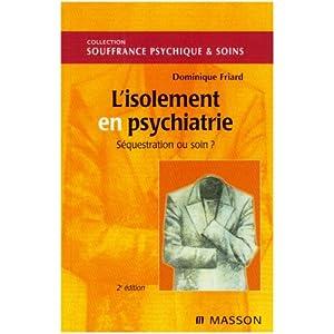 L'isolement en psychiatrie