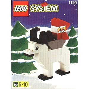 Lego Santa on Reindeer