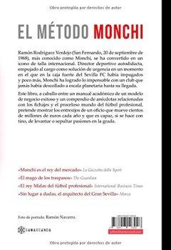 Portada del libro deEl Método Monchi: Las claves del sistema de trabajo del Rey Midas del fútbol mundial