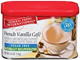 Maxwell House International Coffee Decaf Sugar Free French Vanilla Café, 4-Ounce Cans (Pack of 6)