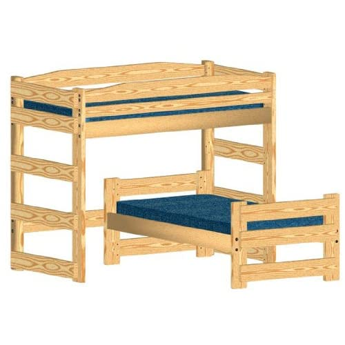 Bunk Bed Plan L Shaped Twin over Twin Bunk Bed Plans for L Shaped Twin