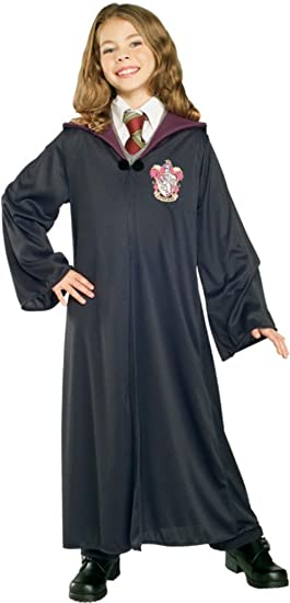 Rubies Costume Harry Potter Child's Hermione Granger Gryffindor Robe, Small