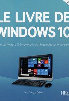 Livres Couvertures de Le livre de Windows 10, 2e édition