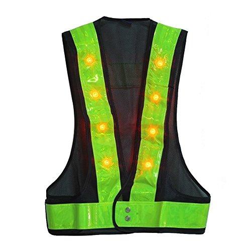 LED Reflective Vest For Safety