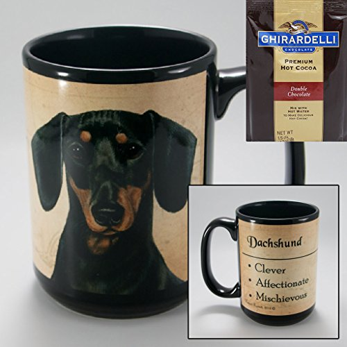 dachshund coffee cup