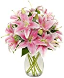 Shery Flowers Lily Bunch Eshopclub Fresh Flowers - Wedding Flowers Bouquets - Birthday Flowers - Send Flowers - Flower Arrangements - Floral Arrangements - Flowers Delivered