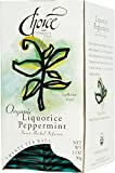 Choice Organic Liquorice Peppermint Tea, 20 Count Box