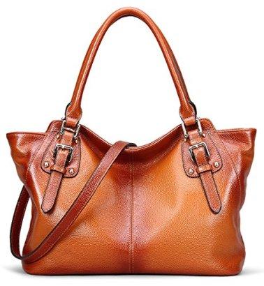 AINIMOER-Women-Vintage-Soft-Genuine-Leather-Tote-Shoulder-Bag-Top-handle-Cross-body-Handbags-Ladys-Purse