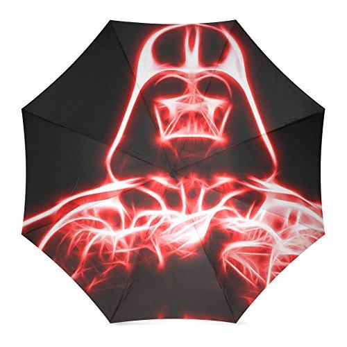 Star Wars Auto Foldable Rain Umbrella Wind Resistant Windproof Floding Travel Umbrella