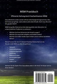 Cover von MSM: Das Praxisbuch zur effizienten Heilung durch hochwirksames MSM. Gegen Rheuma, Arthrose, viele Allergien, diverse Schmerzen u.v.m. Damit auch Ihr Licht wieder erstrahlen kann!