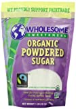 Wholesome Sweeteners Fair Trade Organic Powdered Sugar, 16 Ounce Pouch