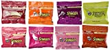 Honey Stinger Organic Energy Chews 8-Flavor Variety: One 1.8 oz Package Each of Lime-Ade, Cherry Cola, Orange Blossom, Cherry Blossom, Fruit Smoothie, Pink Lemonade, Pomegranate Passion, and Grapefruit in a BlackTie Box (8 Items Total)