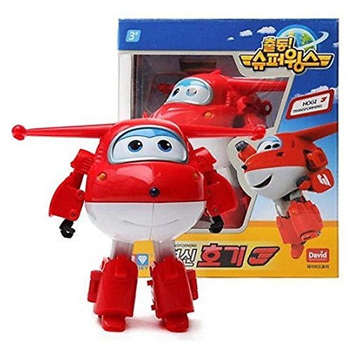 HOGI(JETT) – Super Wings Transforming plane Toy Funny Flux TV Animation Character by Super Wings