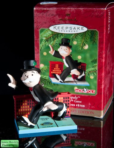 Hallmark Mr Monopoly ornament