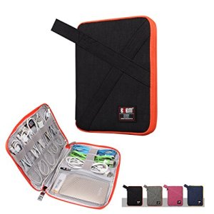 BUBM-Universal-USB-Drive-ShuttleTravel-Gear-Organizer-Electronics-Accessories-Bag-Battery-Charger-Case-with-Handle