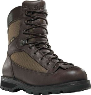 "Men's 8"" Danner Elk Ridge GTX Hunting Boots with 400 - gram Thinsulate Ultra Insulation, BROWN, 13"