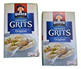 Quaker Original Instant Grits, Box of (12) 1-oz Packets (Pack of 2)