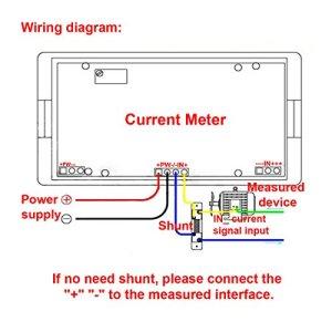 DROK DIGITAL DC 12V Ammeter Panel Amp Meter Gauge DC 0