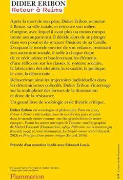 Livres Couvertures de Retour à Reims