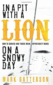 """Cover of """"In a Pit with a Lion on a Snowy..."""