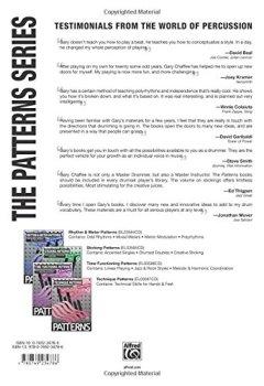 Livres Couvertures de Technique Patterns                                                         Book and Cd