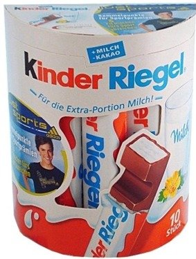 Kinder Riegel Chocolate Sticks ( 10's )