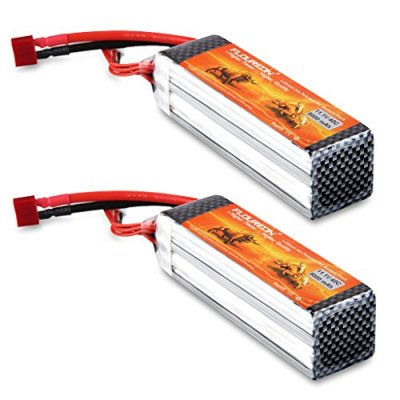 Floureon-2Packs-3S2P-111V-8000mAh-40C-Lipo-Battery-Deans-Plug-53171156-inch-for-RC-Quadcopter-Airplane-Helicopter-Car-Truck-Boat-Hobby