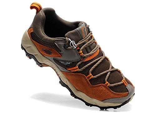 COLUMBIA コロンビア 高級通気素材 トレッキングシューズ 登山靴 ローカット スニーカー アウトドア シューズ (EUR42(26CM))