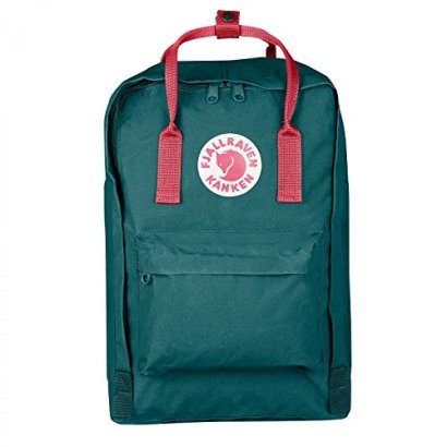 Fjallraven-F27172-Unisex-Kanken-Laptop-15-inch-Bag-Frost-GreenPeach-Pink-OS