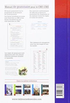 Livres Couvertures de Manuel de grammaire CM1-CM2