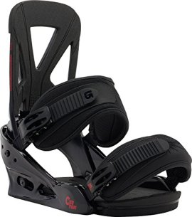 Burton Custom Bindings Black Red L