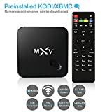 Yuntab S805 Quad Core M TV Set Top TV Box Android 4.4 Kitkat H.265 WIFI LAN Miracast Airplay With Full Loaded Kodi (XBMC) and Cloud Tv Amlogic Bluetooth 4.0 1GB / 8GB Streaming Media Player
