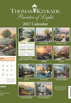 Livres Couvertures de Thomas Kinkade Painter of Light 2017 Calendar