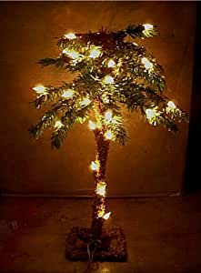 18 Lighted Palm Tree Artificial 35 Lights