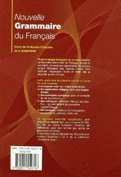 Portada del libro deNouvelle Grammaire Du Français. Cours De Civilisation Française De La Sorbonne (Français langue étrangère)