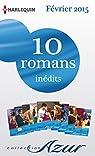 10 romans Azur inédits (nº3555 à 3564 - Février 2015) : Harlequin collection Azur