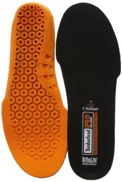 Timberland PRO Men's Anti Fatigue Technology Replacement Insole,Orange,Large/10-11 M US