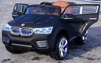 2015-Luxury-Edition-BMW-X5-SUV-Style-12v-Power-Wheels-Remote-Control-Ride-on-Electric-Toy-Car-for-Kids-Dull-Black