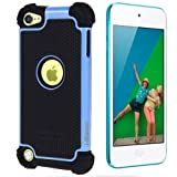 i-Blason Armadillo Series 2 Layer Defender Case for iPod touch 5G (Blue)