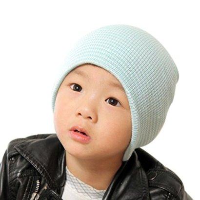 SunwardTM-Baby-Beanie-Boy-Girls-Soft-Hat-Warm-Knitted-Cap-Blue