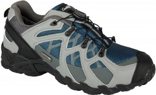 Original CONWAY modische Outdoor- Walkingschuhe mit CONTEX Membrane für Damen und Herren, blau, Größe (EU):45; Grundfarbe:Blau