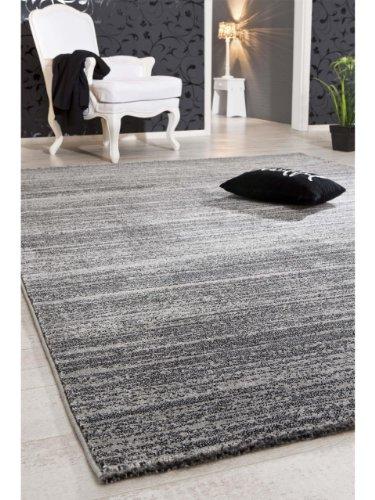 luxor living tapis de salon moderne stratfort pas cher anthracite 120x170 cm sdfdwv mhgbjfythjtqw