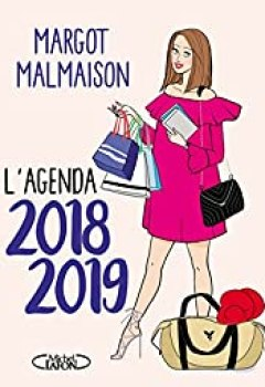 Livres Couvertures de L'agenda De Margot Malmaison 2018 2019