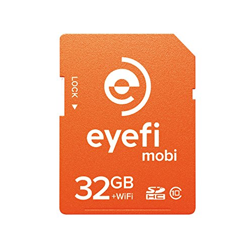 Eye-Fi eyefi MOBI 32GB CLASS 10 SDHC WiFi Flash Memory SD Card Wi-Fi EFJ-MC-32
