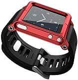 LunaTik Multi-Touch Watch Kit - iPod nano 6g - Red